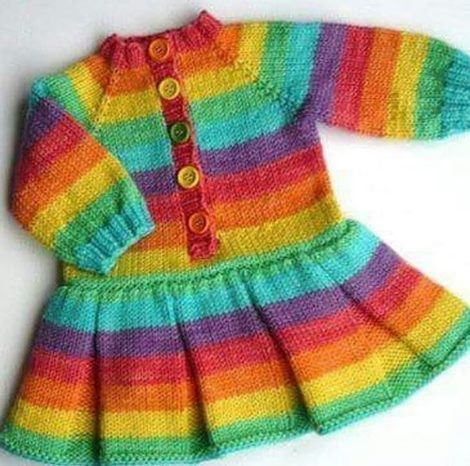 cizgili-orgu-bebek-kislik-elbise