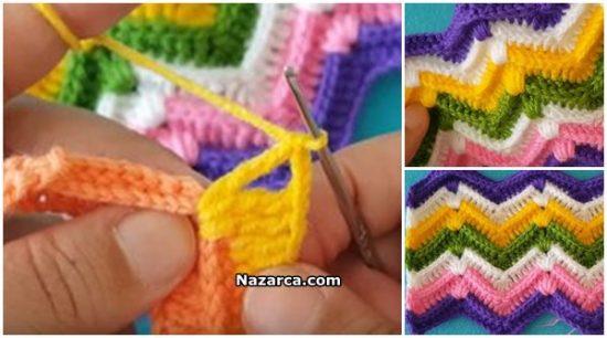 Zikzak-crochet