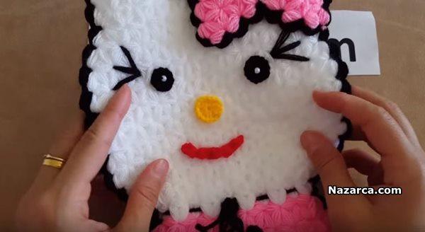 Hello Kitty Modeli Lif Yapımı Türkçe Anlatımlı Videolu