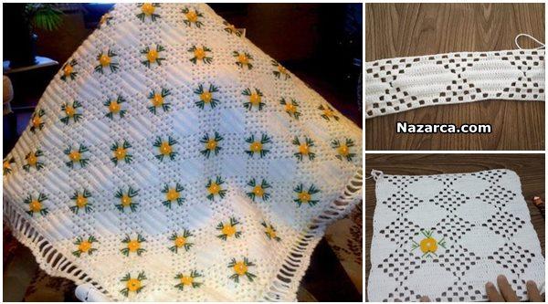 cicek-islemeli-dantel-beyaz-battaniye