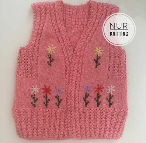 knitting-yelek