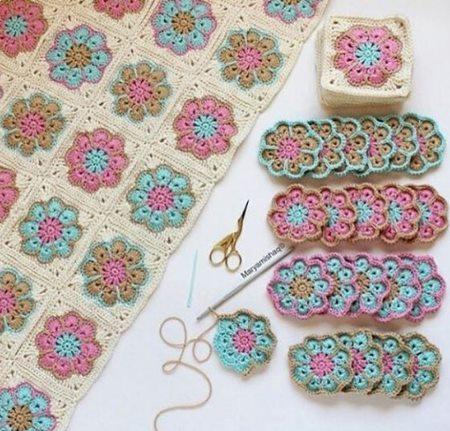 yonca-motifli-renkli-battaniyeler
