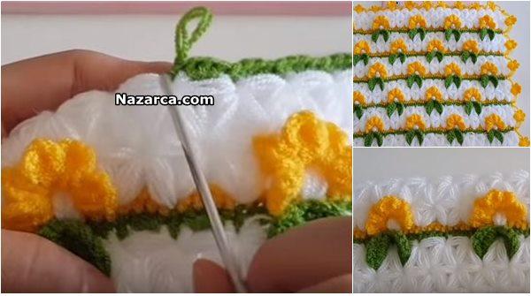 incili-sari-cicekli-kare-lif-modeli