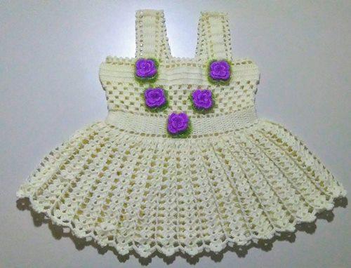 mor-gullu-2-3-yas-orme-bebek-elbisesi