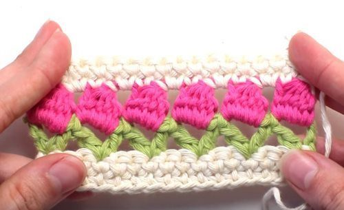 Tulip-Stitch-häkeln