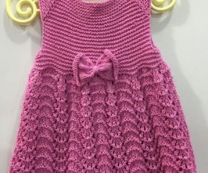 Baby- clothes- Knitting- dress