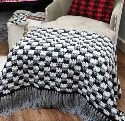 Crochet -Throw- Blanket