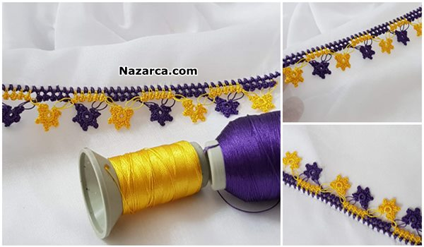 iki-renkli-sari-lacivert-tig-oyasi-yapilisi
