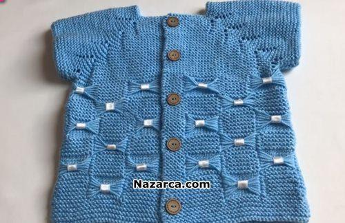 mavi-fiyonklu-kurdeleli-bebek-yelek-yapilisi
