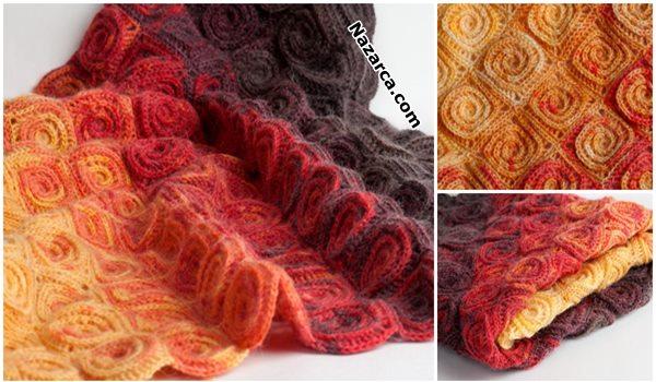spiral-motifli-batik-bebek-battaniyesi