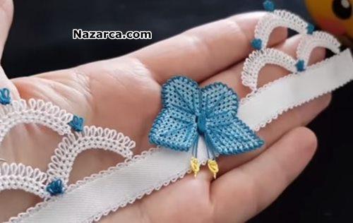 dag-kelebekleri-igne-isi-havlu-modeli