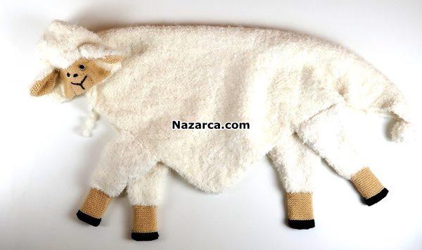kuzu-seklinde-kundakli-bebek-battaniye-yapilisi