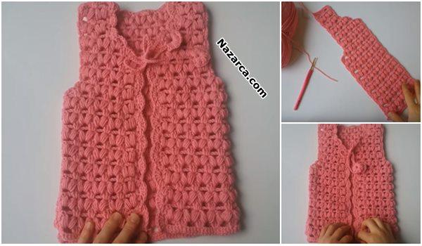 Crochet-Baby -Vest-knit