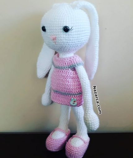 ayakkabili-elbiseli-kiz-tavsan-oyuncagi