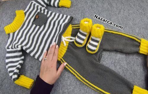 cizgili-orgu-bebek-esofman-kazak-pantolon-patik
