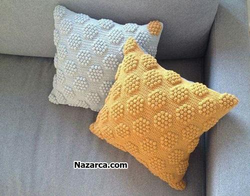 tek-renkli-altigen-popcorn-stitch