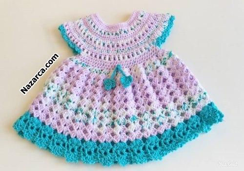 1-2-yas-bebek-kizlara-prenses-orgu-elbise
