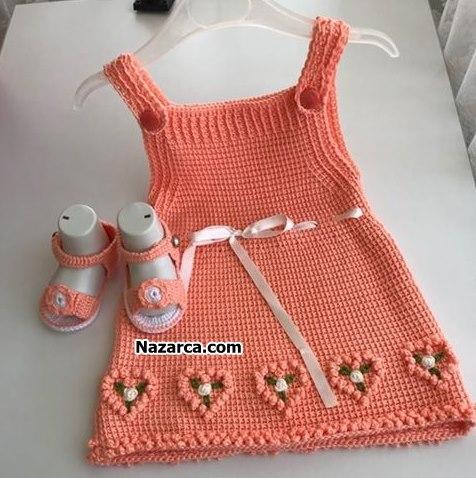Tunus işi pıtırcık bebek yeleği yapımı - Canım Anne | 478x476