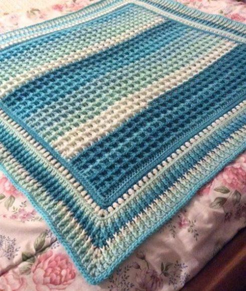 weaffle-mavi-bebek-battaniye-modeli-kenarli-ornekli
