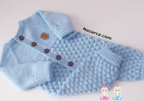 Knitting-Baby- jumpsuit