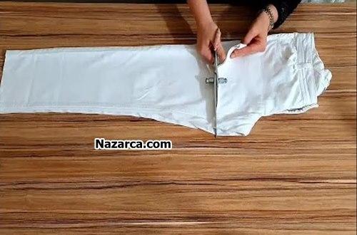 Recycle-pantolondan-elbise-yapmak