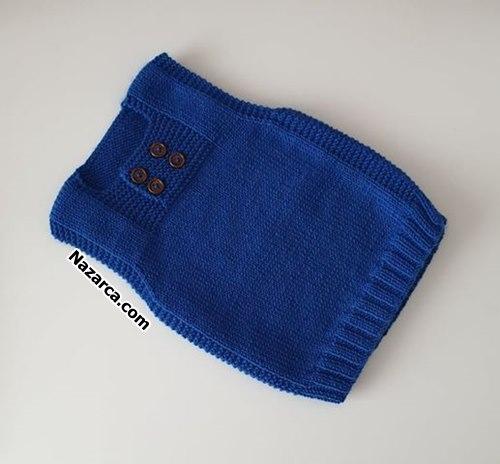 mavi-4-dugmeli-nazarca-bebek-suveter-modeli