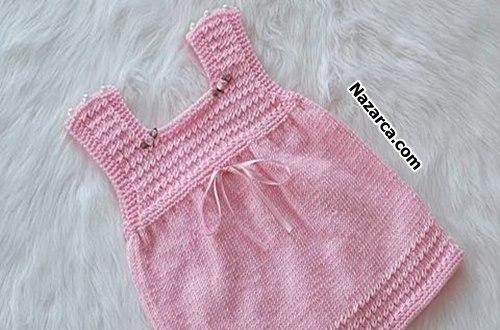 jile-yagmur-damlsi-bebek-elbise-ormek