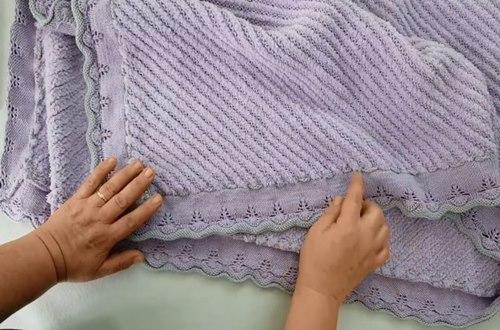 tek-renkli-ajurlu-battaniye-kenar-borduru