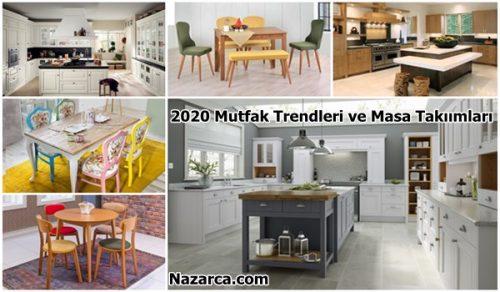 TREND MUTFAKLAR TREND MASA TAKIMLARI İLE GÜZEL 2020