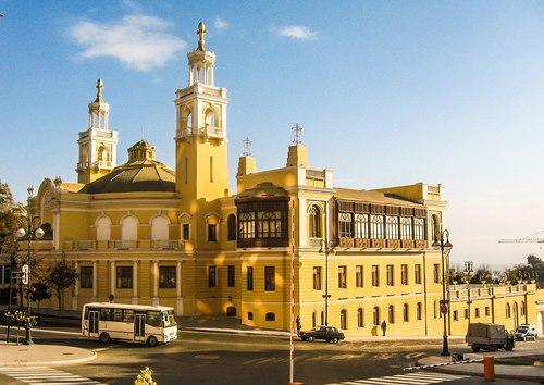 Azerbaycan- Devlet -Filarmoni -Salonu