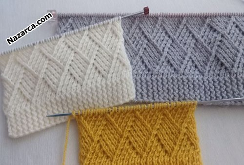 Kaju- katli- knitting- pattern