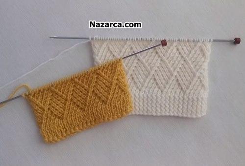 Kaju -katli- knitting