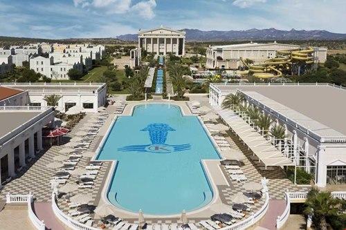 Kibris Bafra-Kaya-Artemis-Resort-Hotel-plaj-havuz