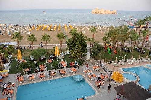 Mersin-Kızkalesi-Park-Admiral-Hotel