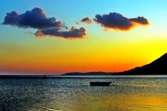 erdek-gece-deniz-gun-batimi