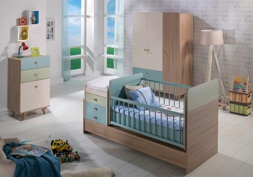Flora- Bebek- Odası- Takımı