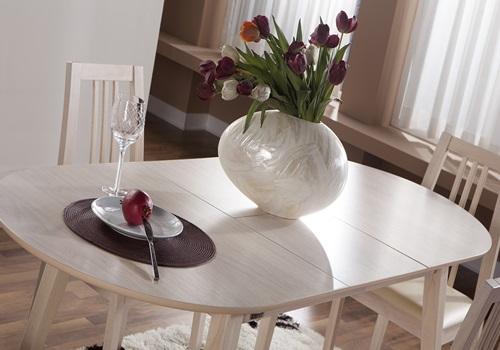 Linda- Masa -Sandalye -Takımı -oval masali