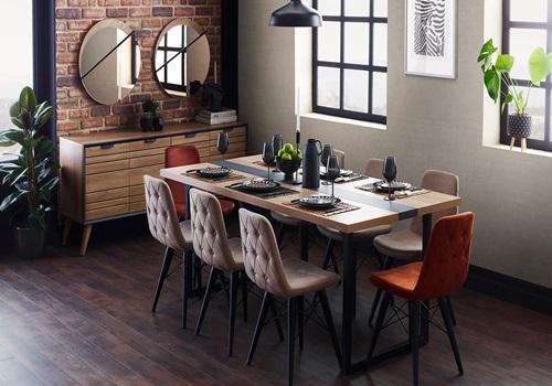Studio -Collection - İndigo -Yemek -Odası -Takımı