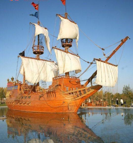 eskisehir-Sazova- Parkı-korsan-gemisi