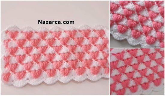 nazarca-3-tane-2-renkli-battaniye-anlatimlari