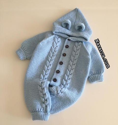orgu-erkek-bebek-mavi-burgulu-uzun-pacali-tulum