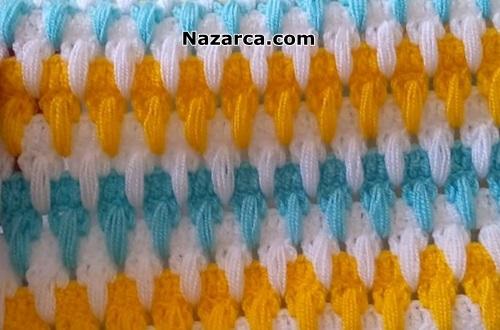 tigla-renkli-sirali-battaniye-yelek-lif-modelleri