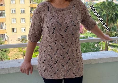 44-46-beden-papatyali-orgu-bayan-bluz