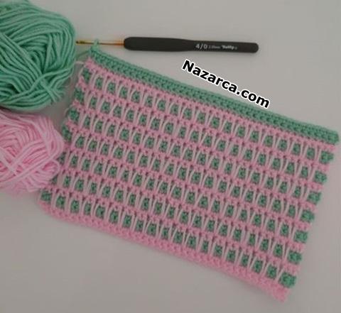 battaniye-ornegi-kolay-iki-renkli-model