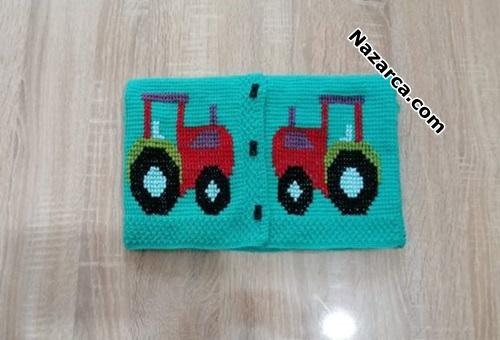 igne-ile-yelek-ustune-traktor-islemesi