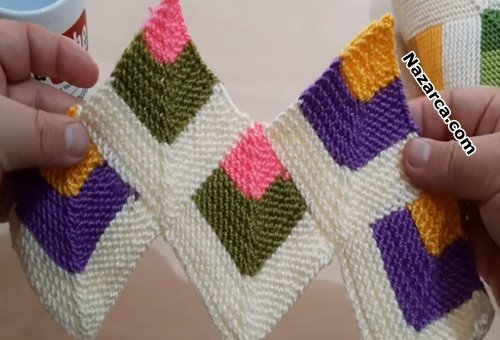 iki-sis-kirkyama-5-renkli-bebek-battaniye