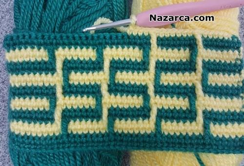 ilmek-tasimali-iki-renk-tig-model-battaniye