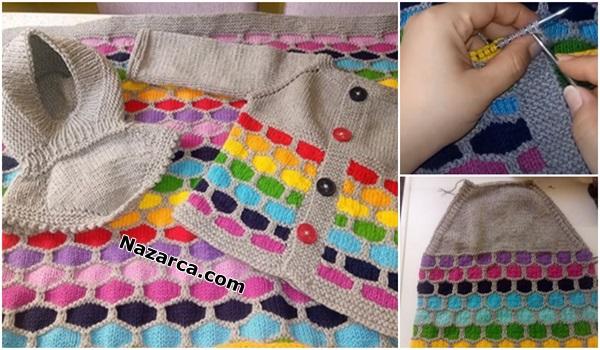 iplik-gecisli-sis-orgu-petekli-renkli-bebek-battaniyesi