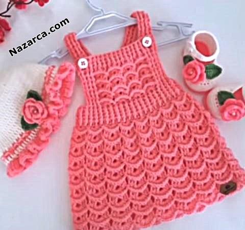kiz-bebek-orme-salopet-elbiseler-2020