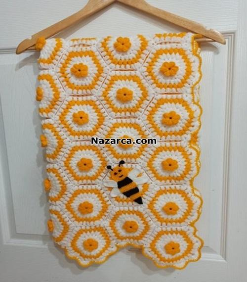 petekli-arili-motifli-tig-battaniye